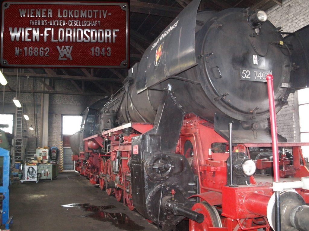 "ALT=""Dampflok imEisenbahnmuseum Würzburg"""