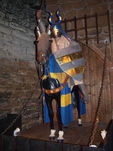 Ritter auf einem Pferd