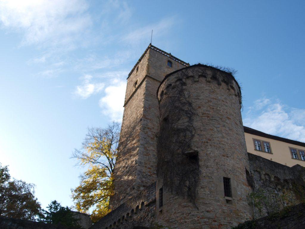 Bergfried der Burg Guttenberg