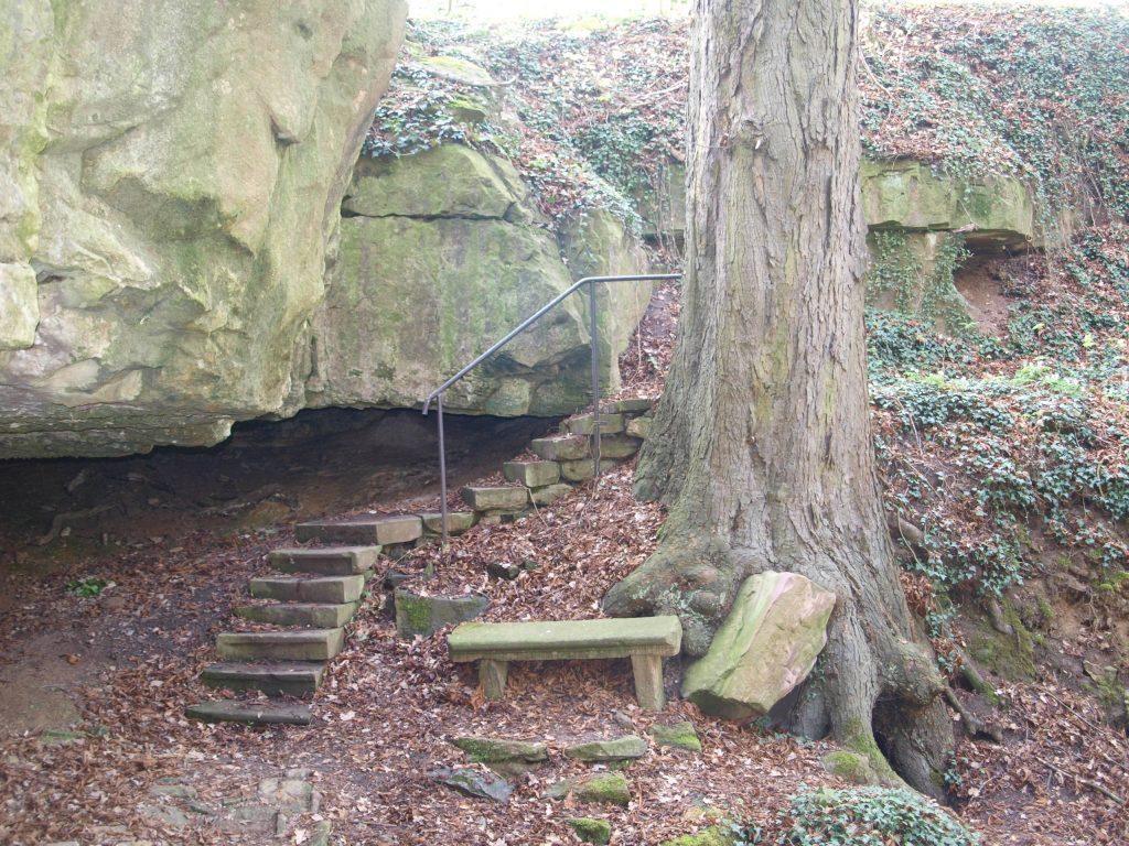Höhle am triefenden Stein