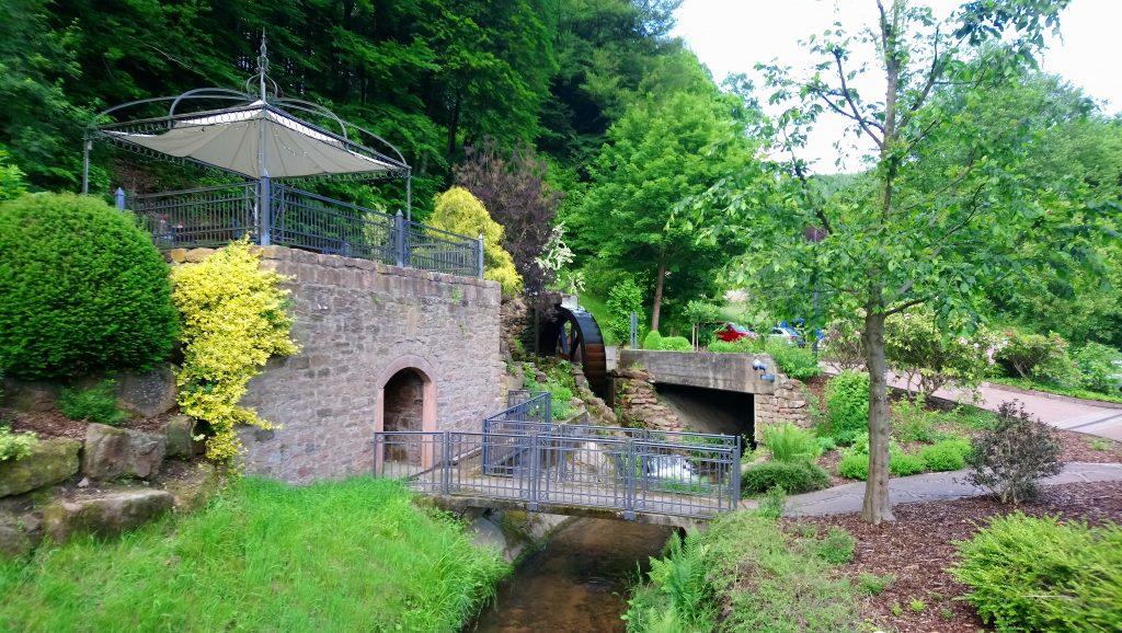 Wasserrad in Heimbuchenthal